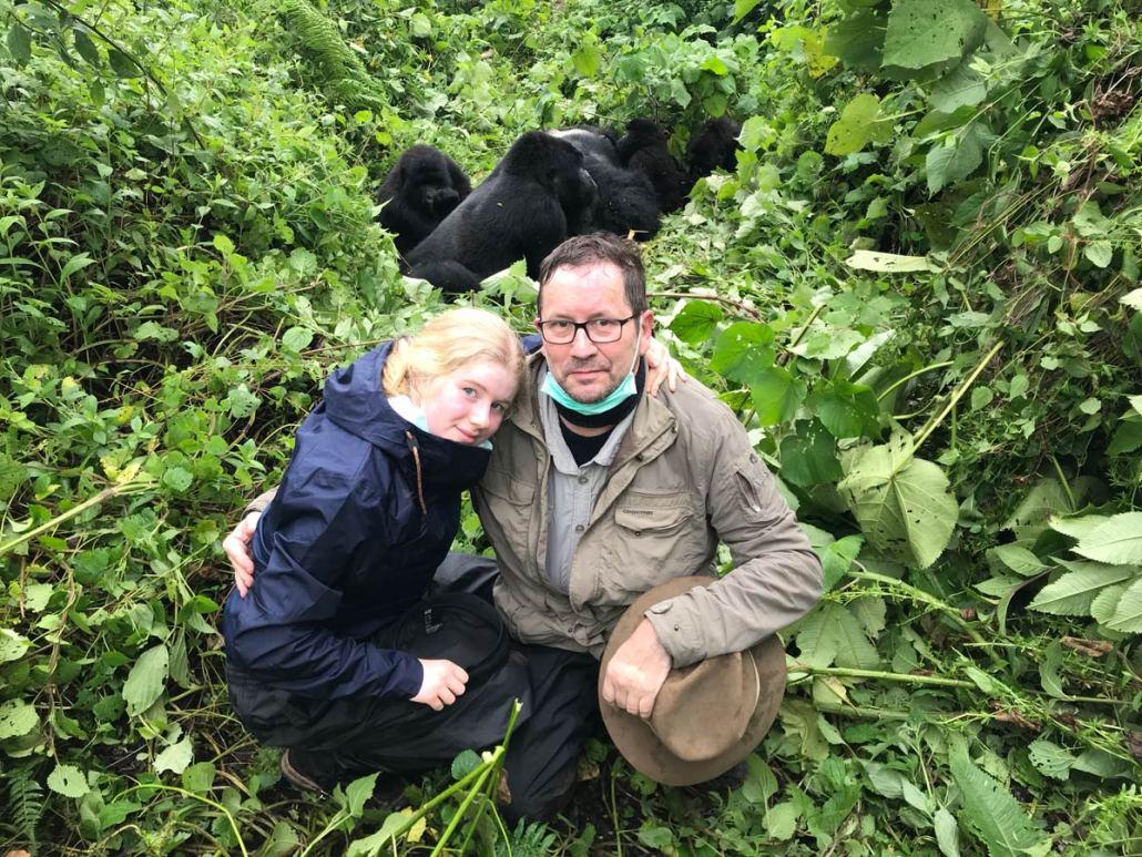 Ludo & Winde Goderis in Virunga Park