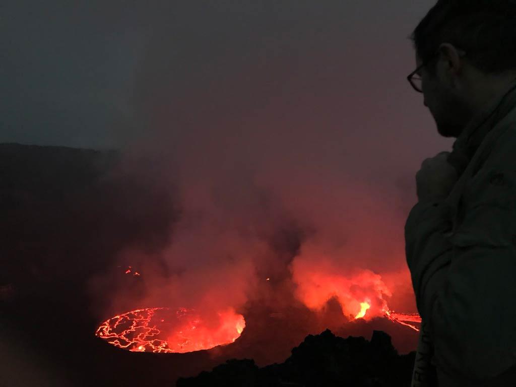 Nyiragongo Volcano Congo Safari