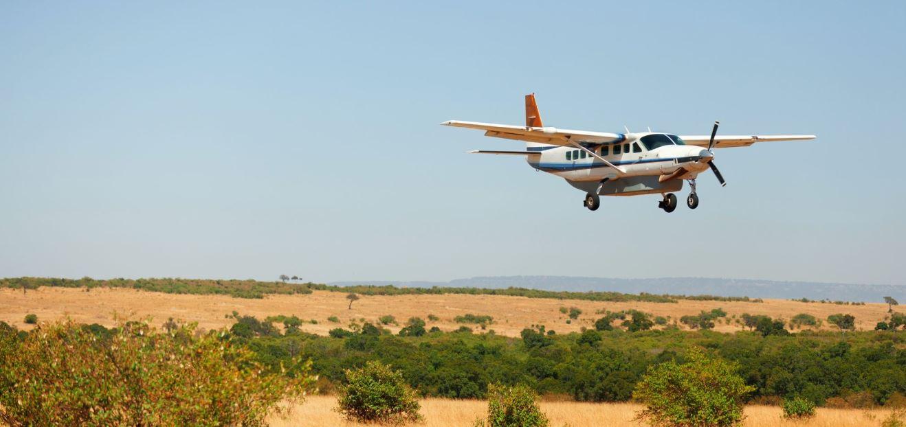 Cessna in Kenya