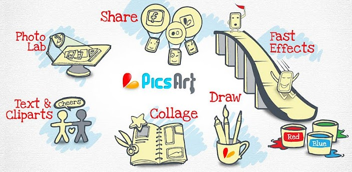 Application PicsArt pour android