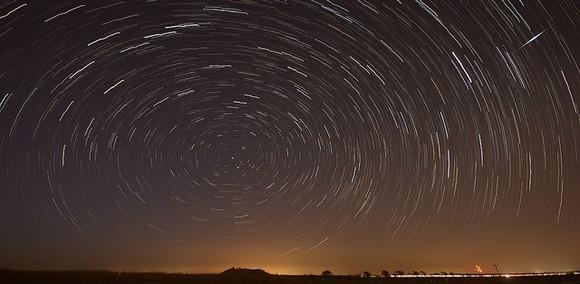 Photo d'un ciel étoilé