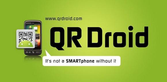 application QR Droid pour lire et créer des qr codes