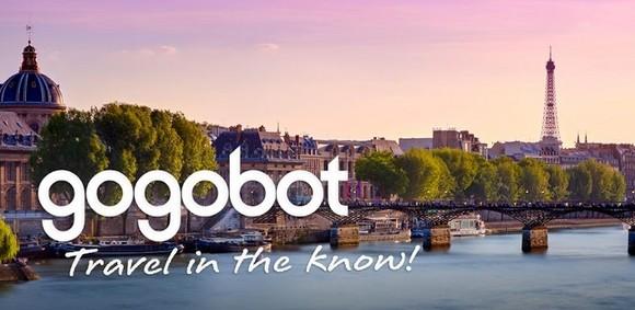 Application android de Gogobot, site de voyages