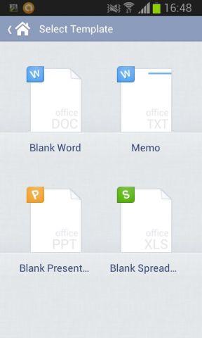 choix du type de fichier à éditer