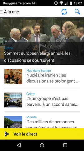 Application I-télé