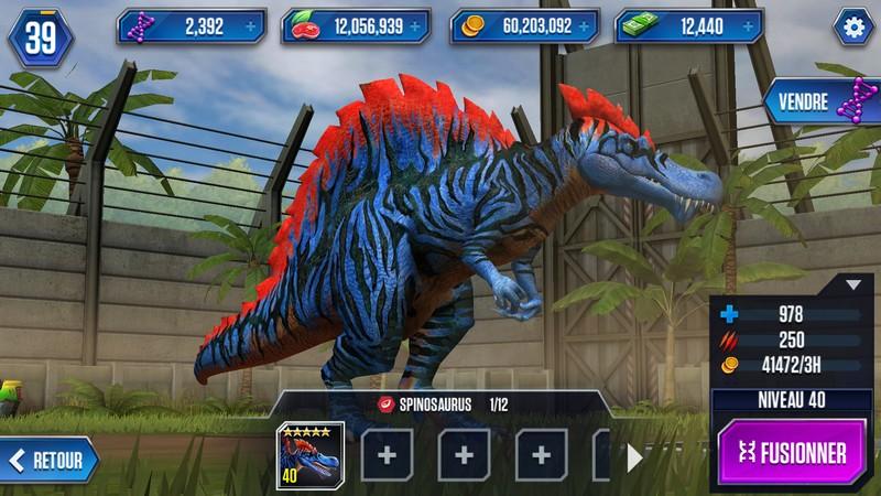 Fusionner les dinosaures pour créer un hybride