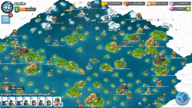 Les îles à conquerir