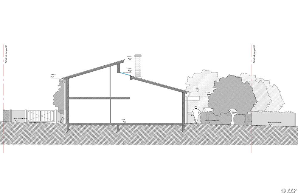 LAtelier Architectures Et Paysages Maison J TOUR EN