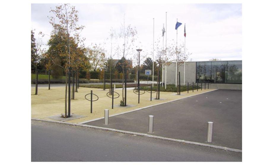 Ville de Pacé - Bd Dumaine de la Josserie - Abords salle Le Ponant - Réalisation ABE