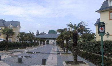ville de Dinard - place crolard et Rochaid - Réalisation ABE