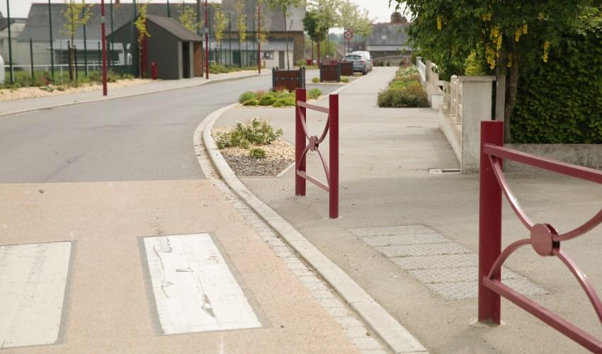 Saint-Aubin-des-Landes-centre bourg- Réalisation ABE