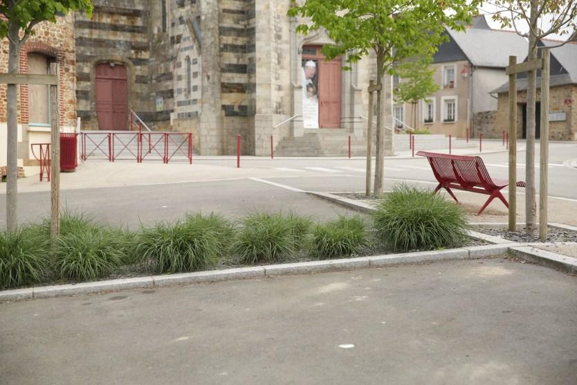 Centre bourg -Saint-Germain-du-Pinel- Réaménagement ABE