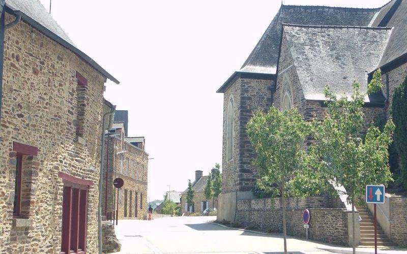 Centre bourg - Orgères - Réalisation ABE
