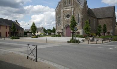 Boisgervilly - centre bourg - Réalisation ABE