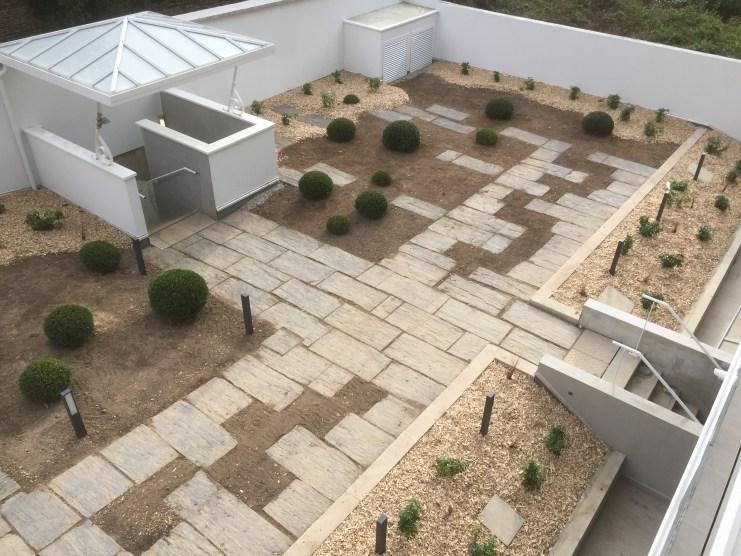 Cara - jardin sur sous-sol - Réalisation ABE