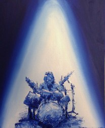Musiker drummer