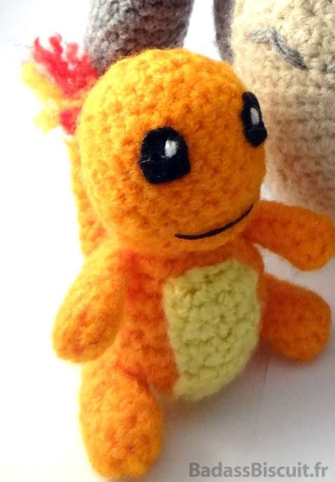 Amigurumi Pokémon : Salamèche