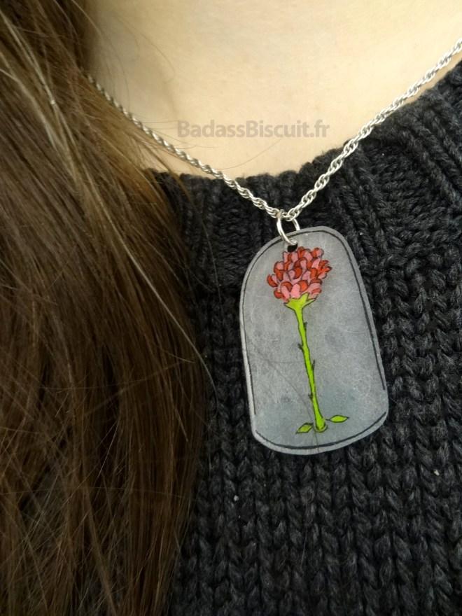 La Rose du Petit Prince en Plastique dingue