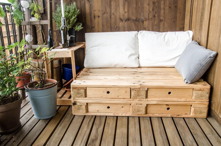 meuble avec palette la tendance du