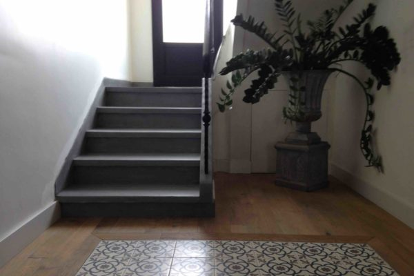 Escalier beton cire parquet carreaux ciments nantes 4 copie
