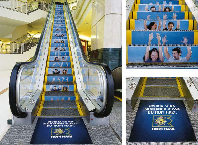 La publicité sur des lieux insolites ou Guerilla Marketing ou Street Marketing