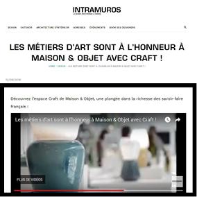 article web intramuros magazine