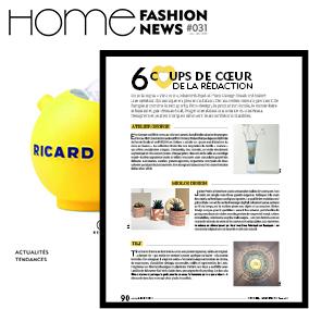 article publié par home fashion news