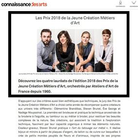 article web connaissance des arts