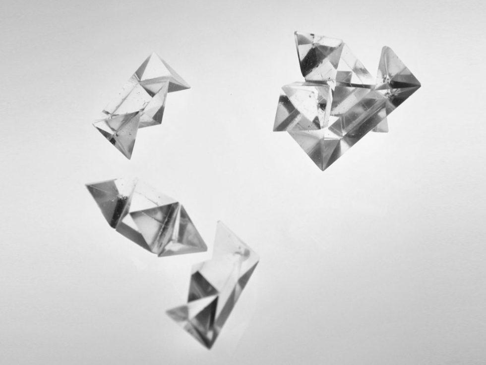 casse tête chinois cristal taillé pièces détachées Design Atelier George