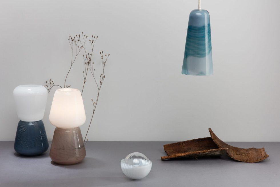 atelier george collection moire objet d'intérieur lampe à poser suspension