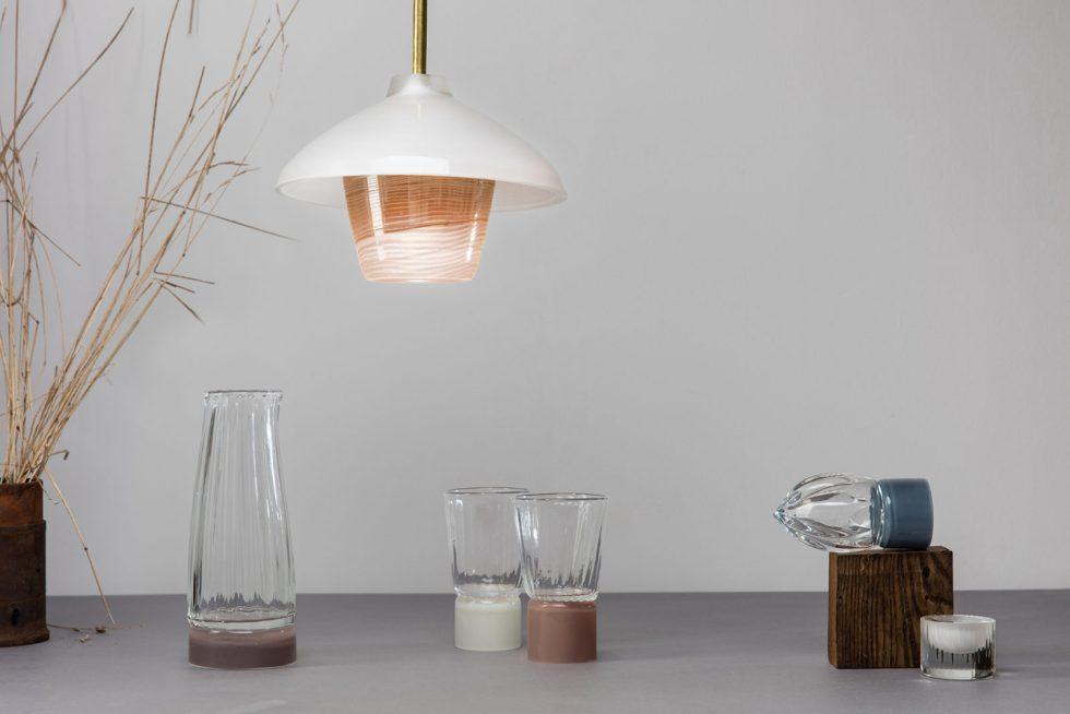 atelier george collection moire objet d'intérieur service de table suspension