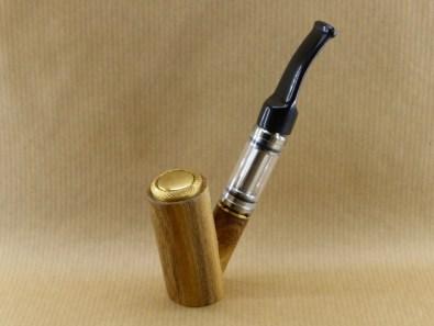 Présentation de ma pipe électronique en acacia