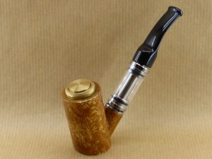 presentation of my brush of plane wood e-pipe with ebonite stem