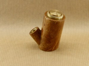 right view of my brush of plane wood e-pipe