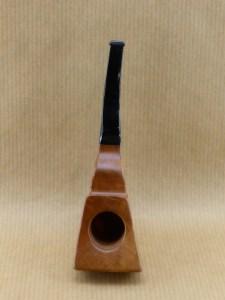"""pipe en bruyère originale """"flying ribbon"""", vue de dessus"""