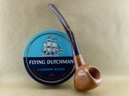 presentation of my smooth heart briar pipe