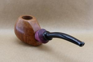 "Left view of my ""Arramite"" : Briar and Amaranth wood."