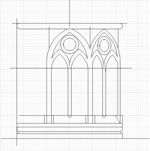 Gothic tobacco pipe scheme