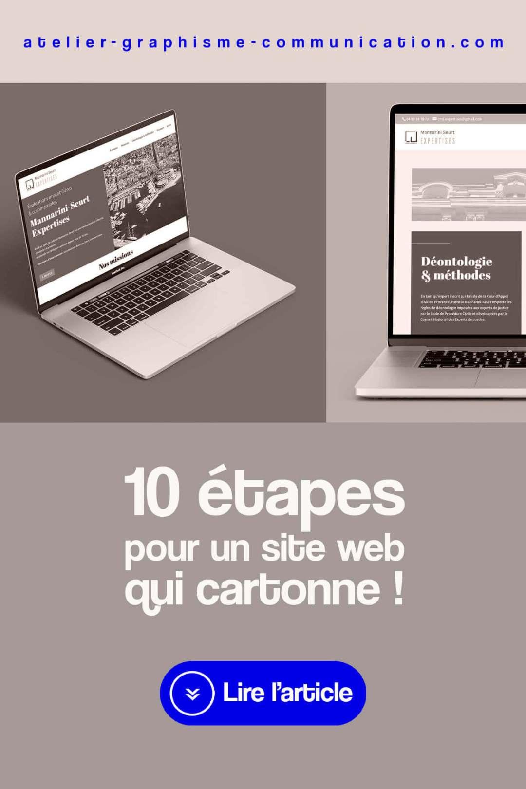 10 étapes pour un site web qui cartonne !
