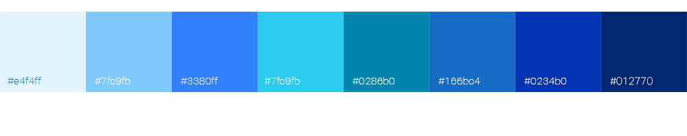 Bien choisir la couleur de son logo : le bleu