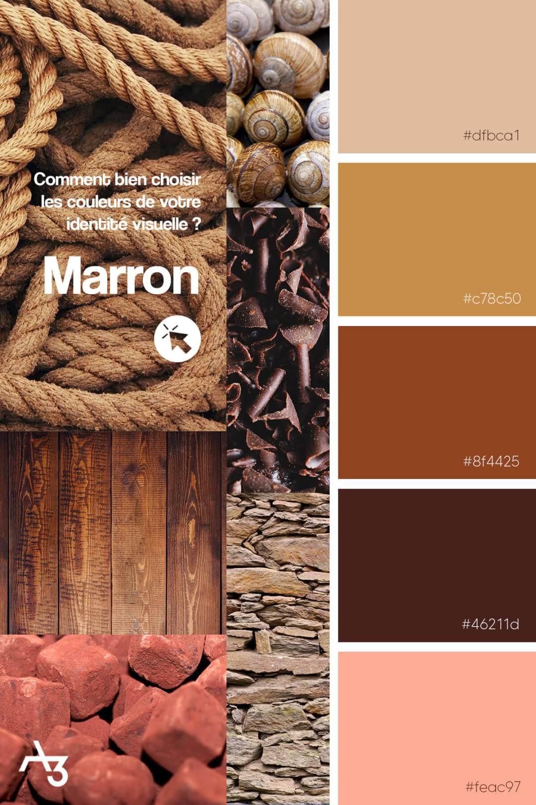 Palette marron