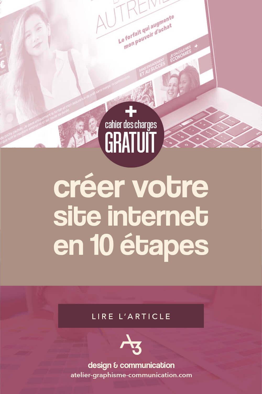 Créer votre site internet en 10 étapes