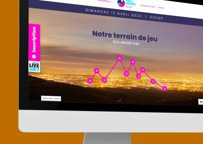 Communication visuelle FULL MOON Trail