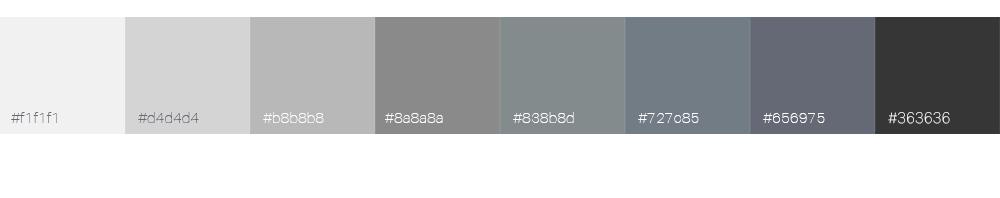 Bien choisir la couleur de son logo : le gris