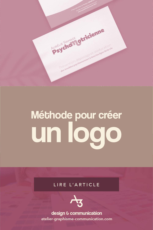 Méthode pour créer un logo