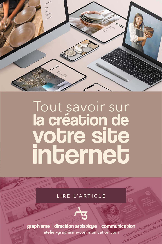 Tout savoir sur la création de votre site internet