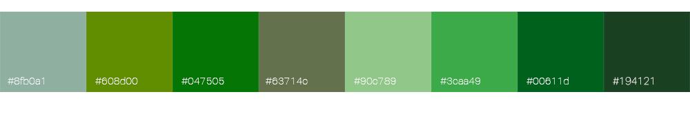 Bien choisir la couleur de son logo : le vert