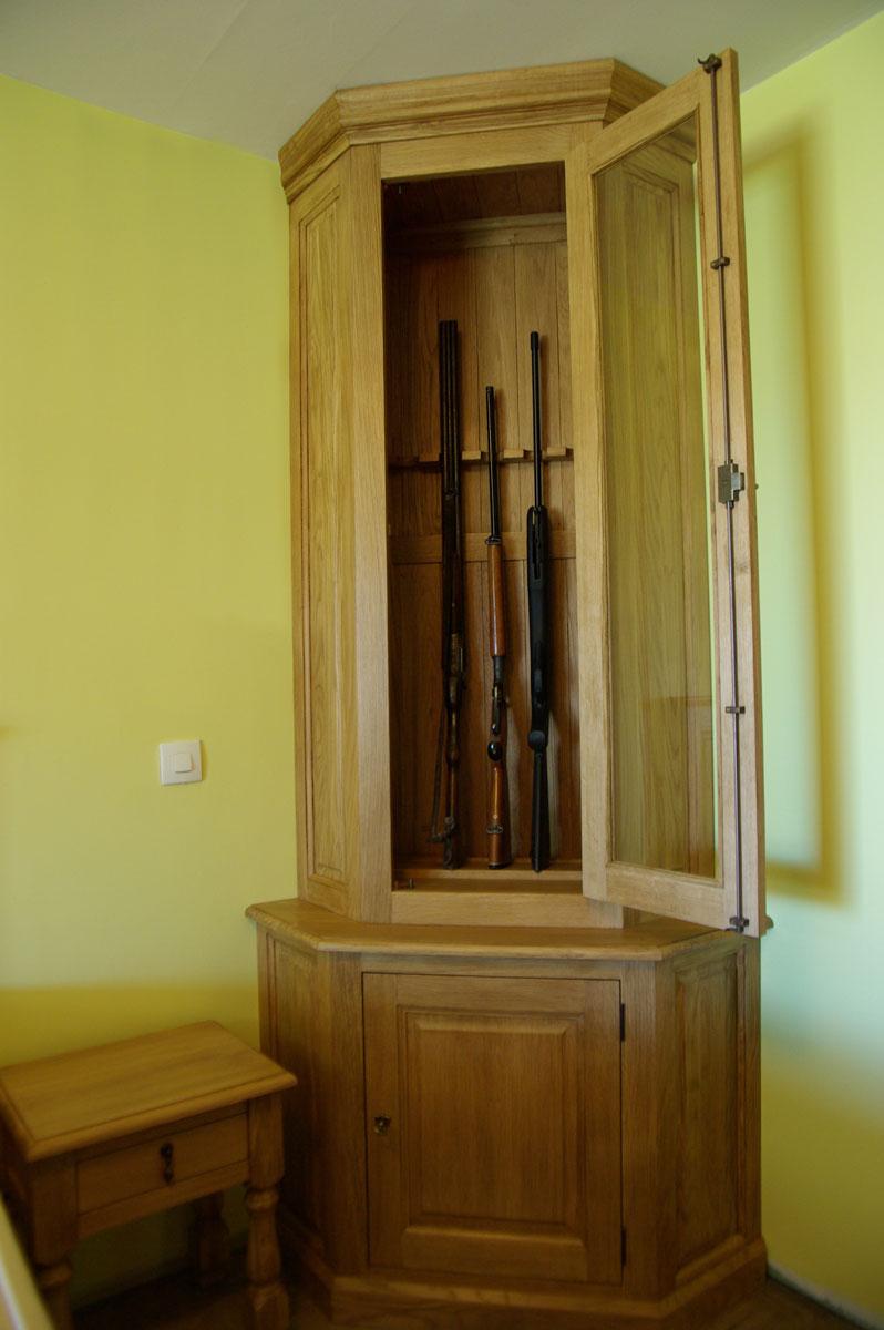 Armoire Fusils En Chne Massif Maisoncelle Tuilerie 60