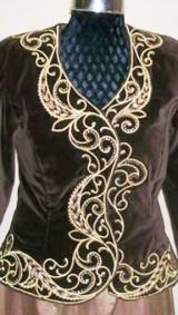 Costume (3) Fleurs Asymétrique (Devant ) Atelier Khatt