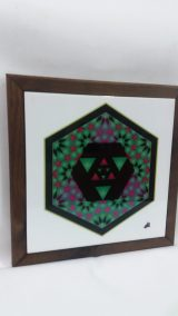Printed Ceramic (20) Intersection du Microcosme et Macrocosme  Atelier Khatt